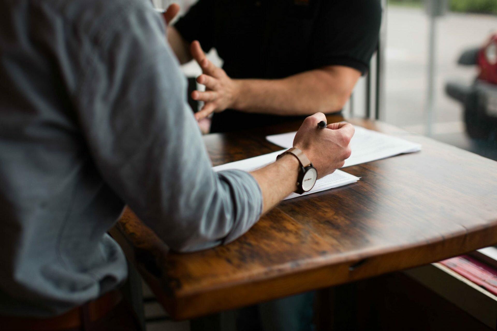 Préparer l'entretien qui permettra d'écrire les contenus d'un site web